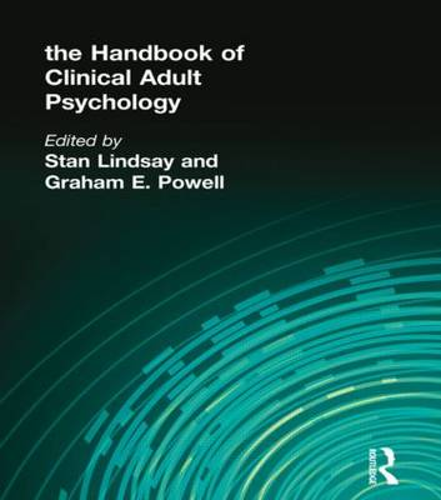 The Handbook of Clinical Adult Psychology (Hardback)
