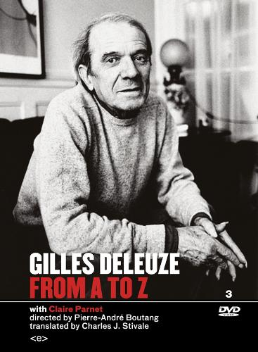 Gilles Deleuze from A to Z - Semiotext(e) / Foreign Agents (DVD video)