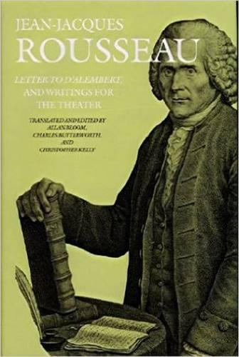 Letter to D'Alembert and Writings for the Theater (Hardback)