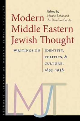 Modern Middle Eastern Jewish Thought (Paperback)