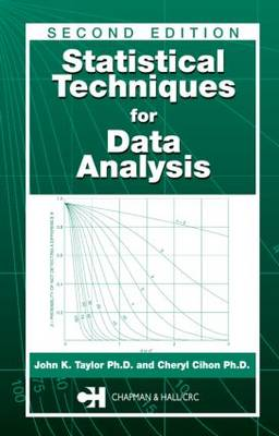 Statistical Techniques for Data Analysis, Second Edition (Hardback)