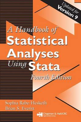 Handbook of Statistical Analyses Using Stata, Fourth Edition (Paperback)