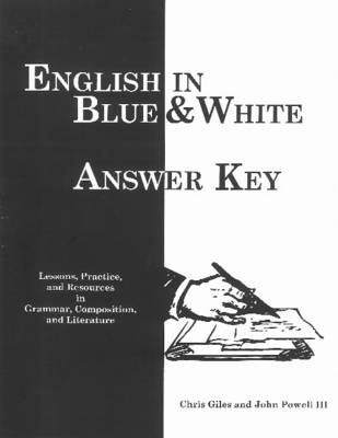 English in Blue & White: Answer Key (Paperback)