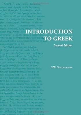 Introduction to Greek (Paperback)