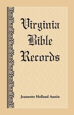 Virginia Bible Records (Paperback)