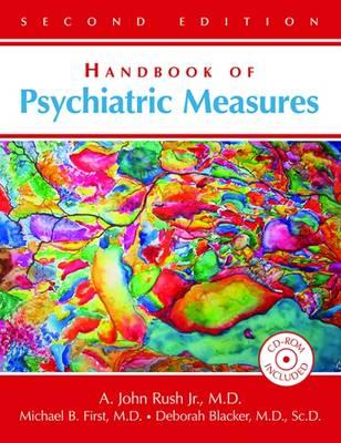 Handbook of Psychiatric Measures (Hardback)