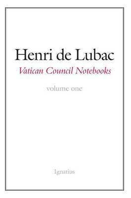 Vatican Council Notebooks (Paperback)