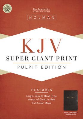 Pulpit Bible-KJV Super Giant Print (Hardback)