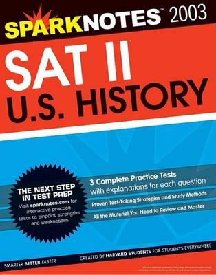 SAT II United States History (Sparknotes Test Prep) - Sparknotes Test Prep (Paperback)