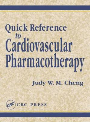 Quick Reference to Cardiovascular Pharmacotherapy - Pharmacy Education Series (Paperback)