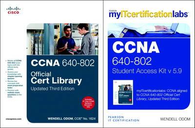 CCNA MyITCertificationLab 640-802 Official Cert Library Bundle V5.9