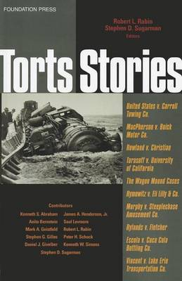 Torts Stories - Law Stories (Paperback)