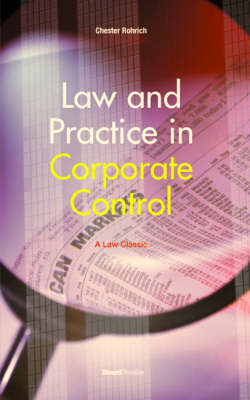 Law and Practice in Corporate Control (Paperback)