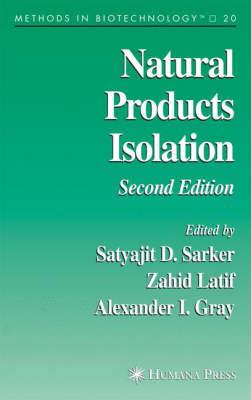 Natural Products Isolation - Methods in Biotechnology v. 20 (Hardback)