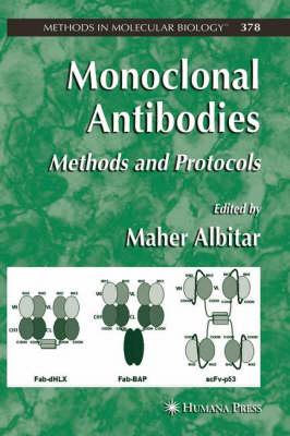 Monoclonal Antibodies: Methods and Protocols - Methods in Molecular Biology 378 (Hardback)