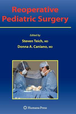 Reoperative Pediatric Surgery (Hardback)