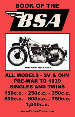 THE Book of the Bsa - an Owners Workshop Manual for (Paperback)