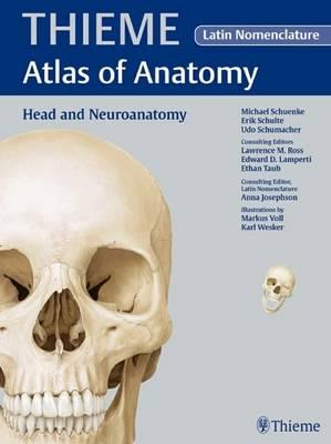 Head and Neuroanatomy - Latin Nomencl - Thieme Atlas of Anatomy Series (Hardback)