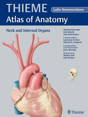 Neck and Internal Organs - Latin Nomencl: v. 2 - Thieme Atlas of Anatomy Series (Hardback)