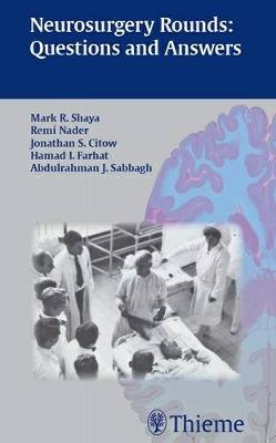 Neurosurgery Rounds: Questions and Answers (Paperback)