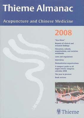 Thieme Almanac: Acupuncture and Chinese Medicine (Paperback)