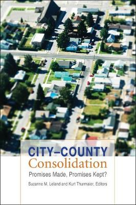 City-County Consolidation: Promises Made, Promises Kept? - American Governance and Public Policy series (Paperback)