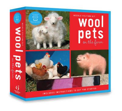 Wool Pets on the Farm Needle Felting Kit (Paperback)