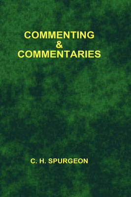 Commenting and Commentaries - College (Paperback)
