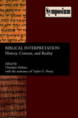 Biblical Interpretation: History, Context, and Reality (Paperback)