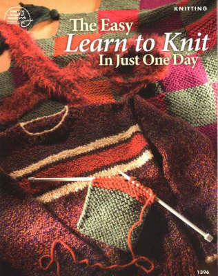 Easy Learn to Knit in Just One Day (Paperback)