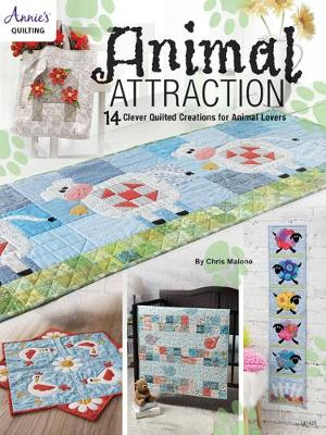 Animal Attraction: 14 Clever Quilted Creations for Animal Lovers (Paperback)