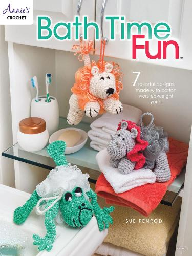 Bath Time Fun: 7 Colorful Designs Made with Cotton Worsted-Weight Yarn! (Paperback)