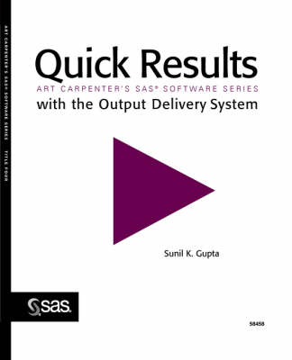 Quick Results with the Output Delivery System (Paperback)