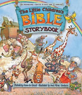 The Little Children's Bible Storybook (Hardback)