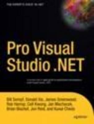 Pro Visual Studio .NET (Paperback)