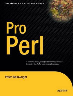 Pro Perl (Paperback)