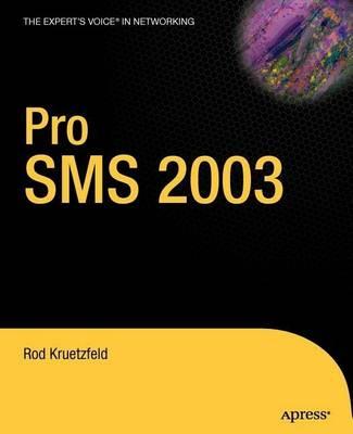 Pro SMS 2003 (Paperback)