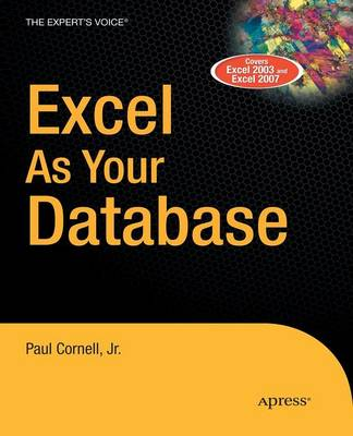 Excel as Your Database (Paperback)