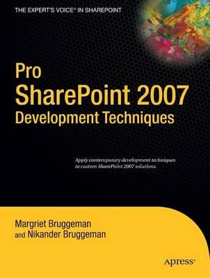 Pro SharePoint 2007 Development Techniques (Paperback)