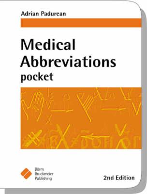 Medical Abbreviations Pocket (Paperback)