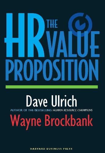 The HR Value Proposition (Hardback)