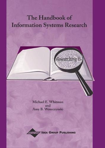 The Handbook of Information Systems Research (Hardback)