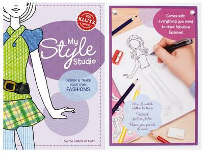 My Style Studio: Design and Trace Your Own Fashions - Klutz