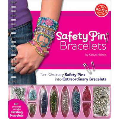 Safety Pin Bracelets - Klutz
