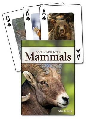 Mammals of the Rocky Mountains Playing Cards - Nature's Wild Cards
