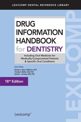 Drug Information Handbook for Dentistry 2012-2013 (Paperback)