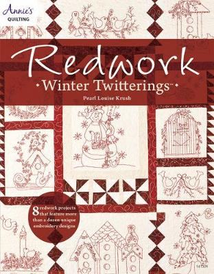 Redwork Winter Twitterings (Paperback)