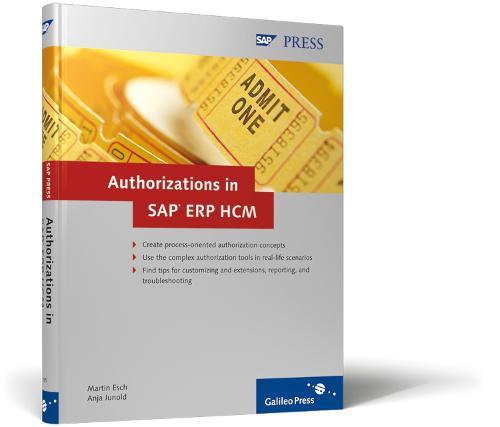 Authorizations in SAP ERP HCM (Hardback)