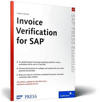 Invoice Verification for SAP (Paperback)