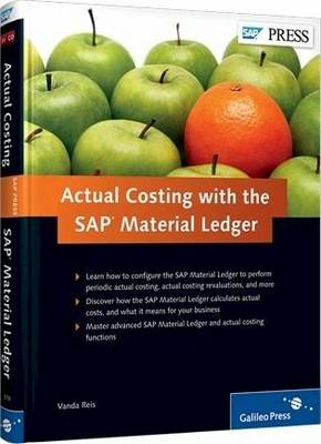 Actual Costing with the SAP Material Ledger (Hardback)